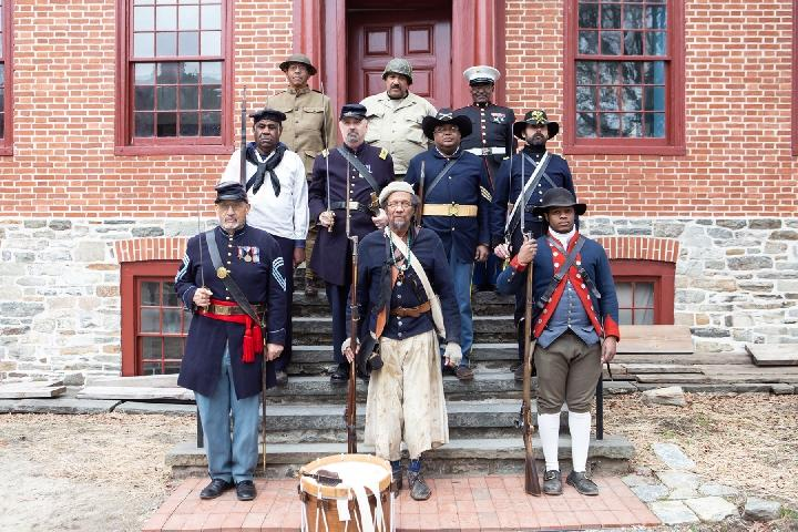 """""""America... We Served!"""" Four Centuries of African American Soldiers"""