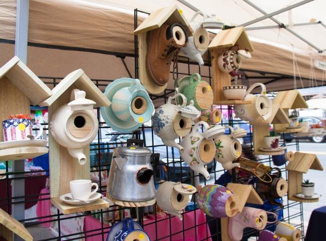 Whimsical and fun--just like our Arts, Crafts & Music Festival