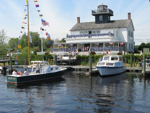 Enjoy boat rides on Tuckerton Creek.