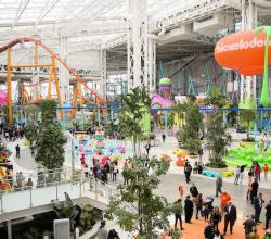 Amusement Park at American Dream Shopping Mall